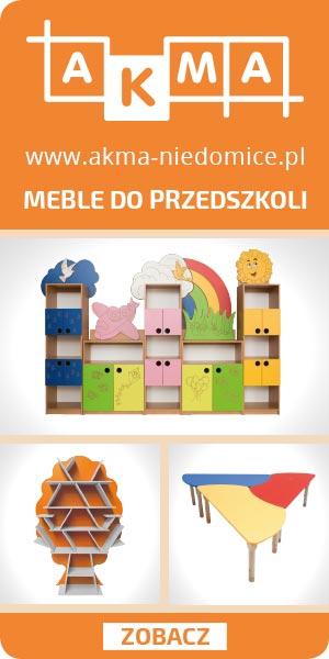 Akma meble dla dzici do przedszkola, klubu malucha