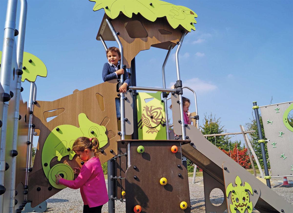 Idealny plac zabaw w żłobku i przedszkolu © Fot. Educarium