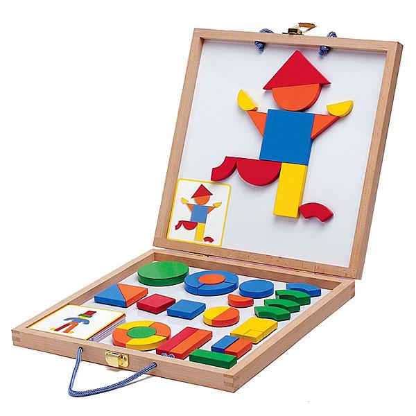 Educarium - geoform – magnetyczna walizka figur
