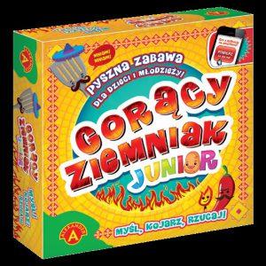 gry planszowe edukacyjna Gorący ziemniak junior