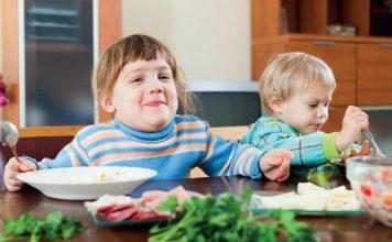 Jesienno-zimowe menu dla dziecka