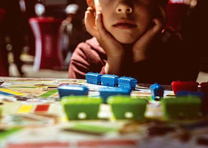 Wsiąść do pociągu: Pierwsza podróż - gry w przedszkolu