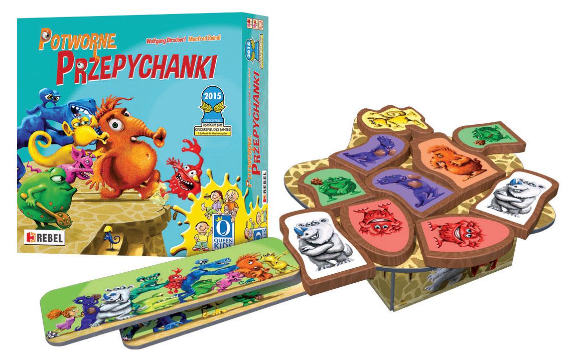 Potworne przepychanki - gry w przedszkolu