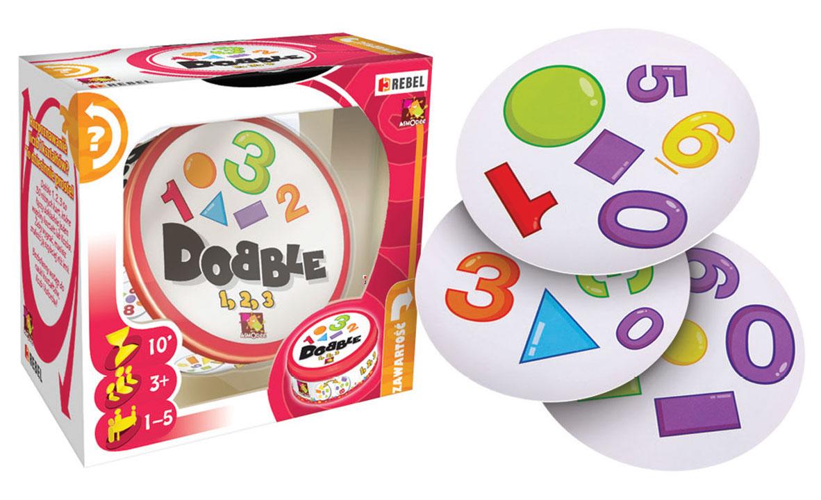 Dobble 1, 2, 3 - gry w przedszkolu