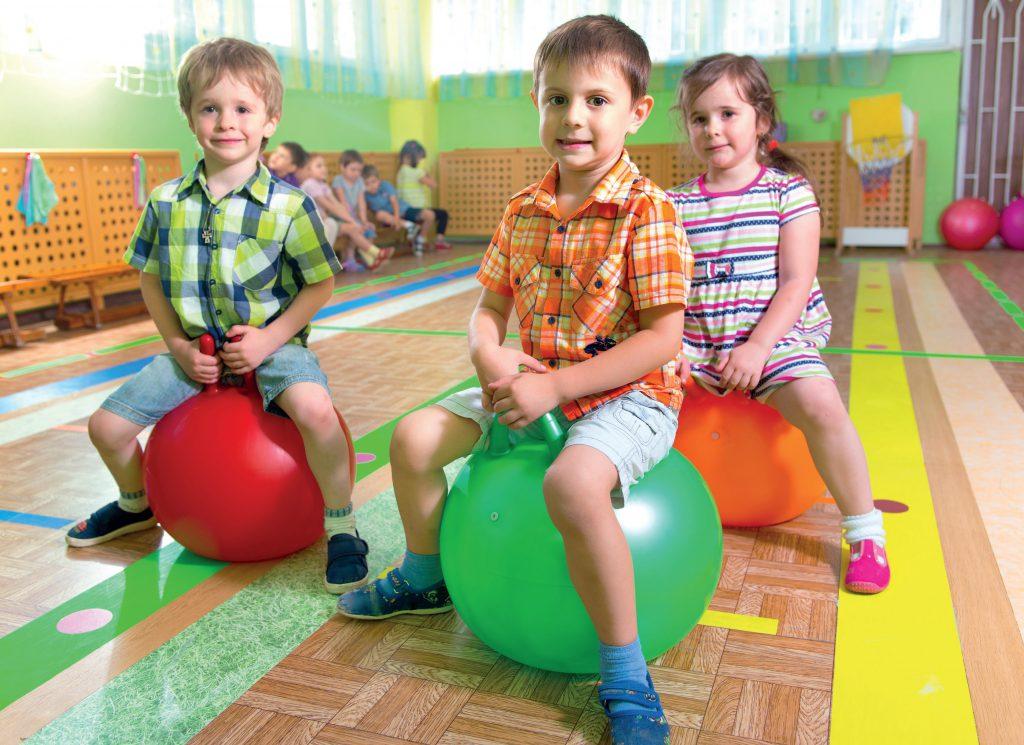 Aktywność fizyczna w przedszkolu. Fot. Fotolia.com
