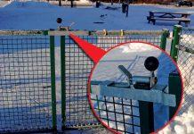 Zabezpieczenia furtek i drzwi w przedszkolu fot. Fotolia.com