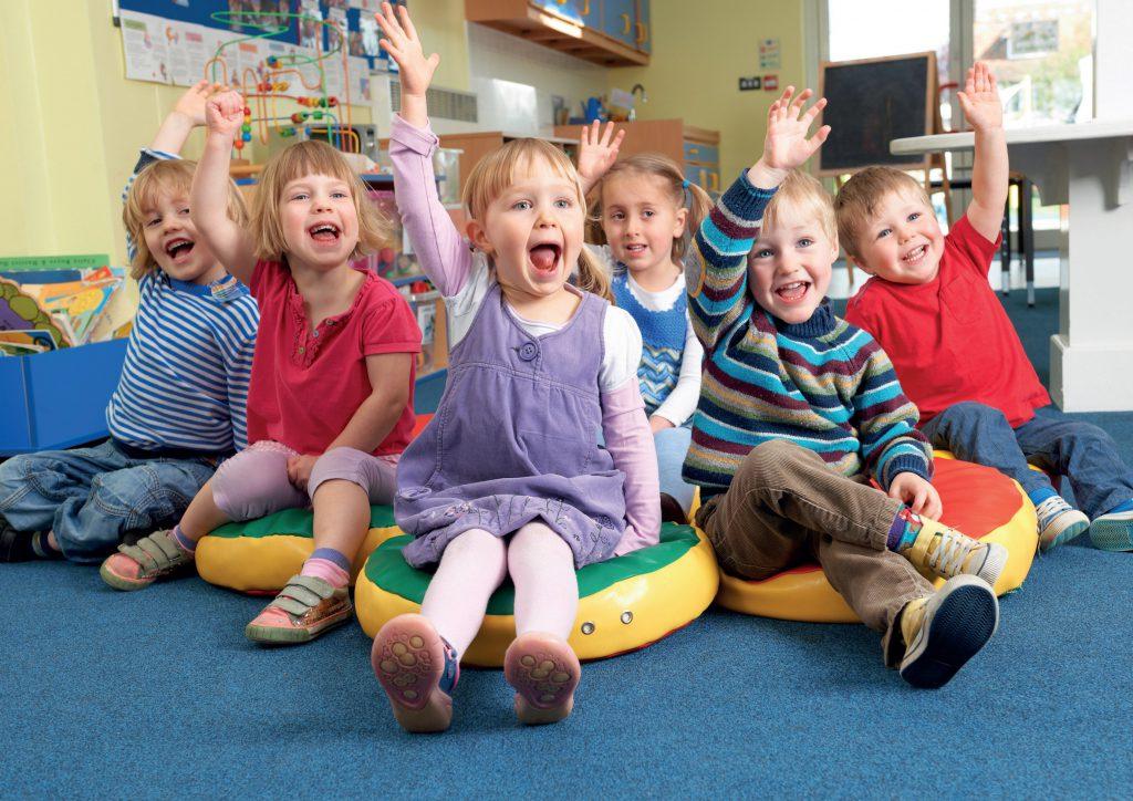 Zabawy integracyjne podczas okresu adaptacyjnego w przedszkolu