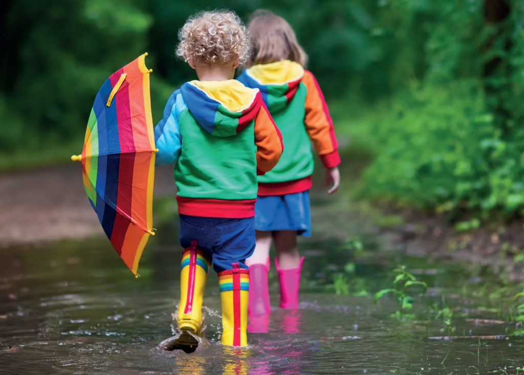 Sposoby na błoto w przedszkolu i żłobku fot. Fotolia.com