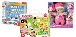 Zabawki interaktywne dla dzieci w żłobku i przedszkolu