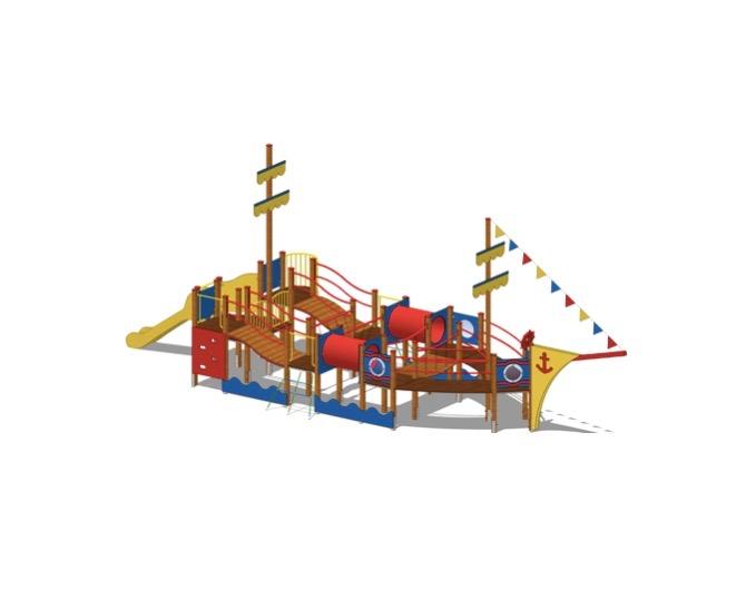 plac zabaw Statek Albatros, Activeline